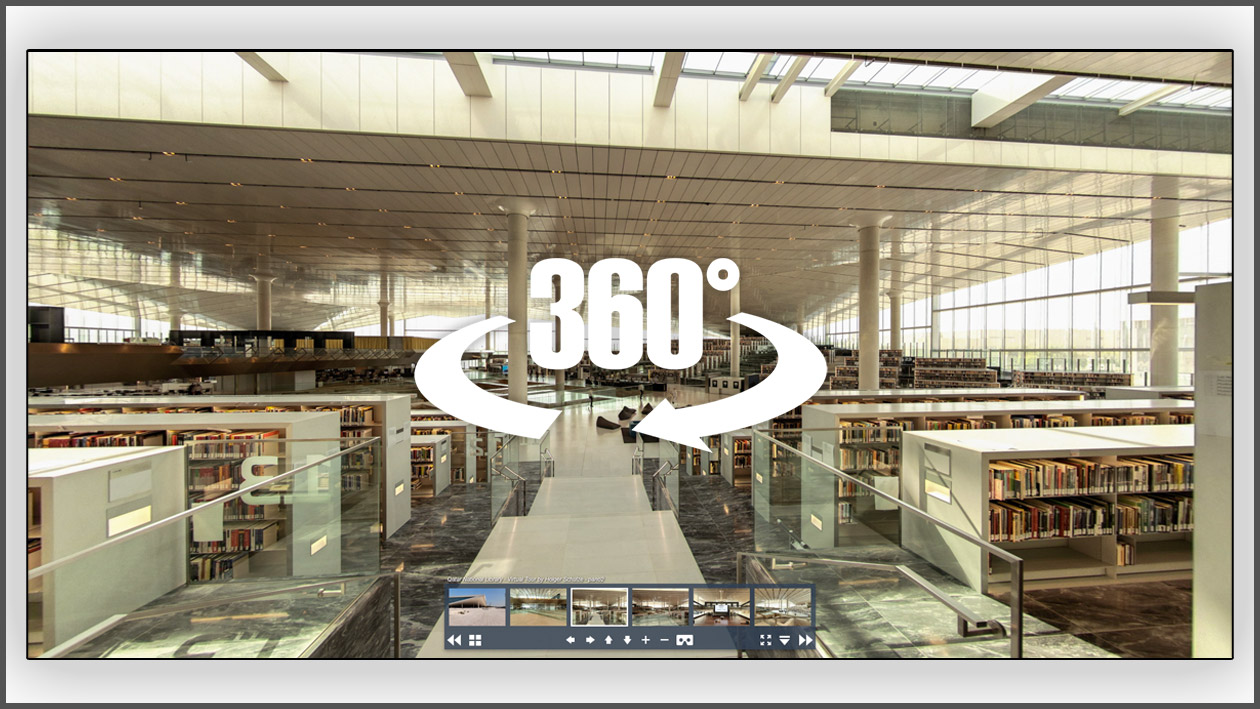 Virtuelle Tour Qatar National Library