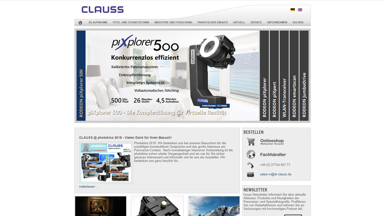 Website Dr. Clauss