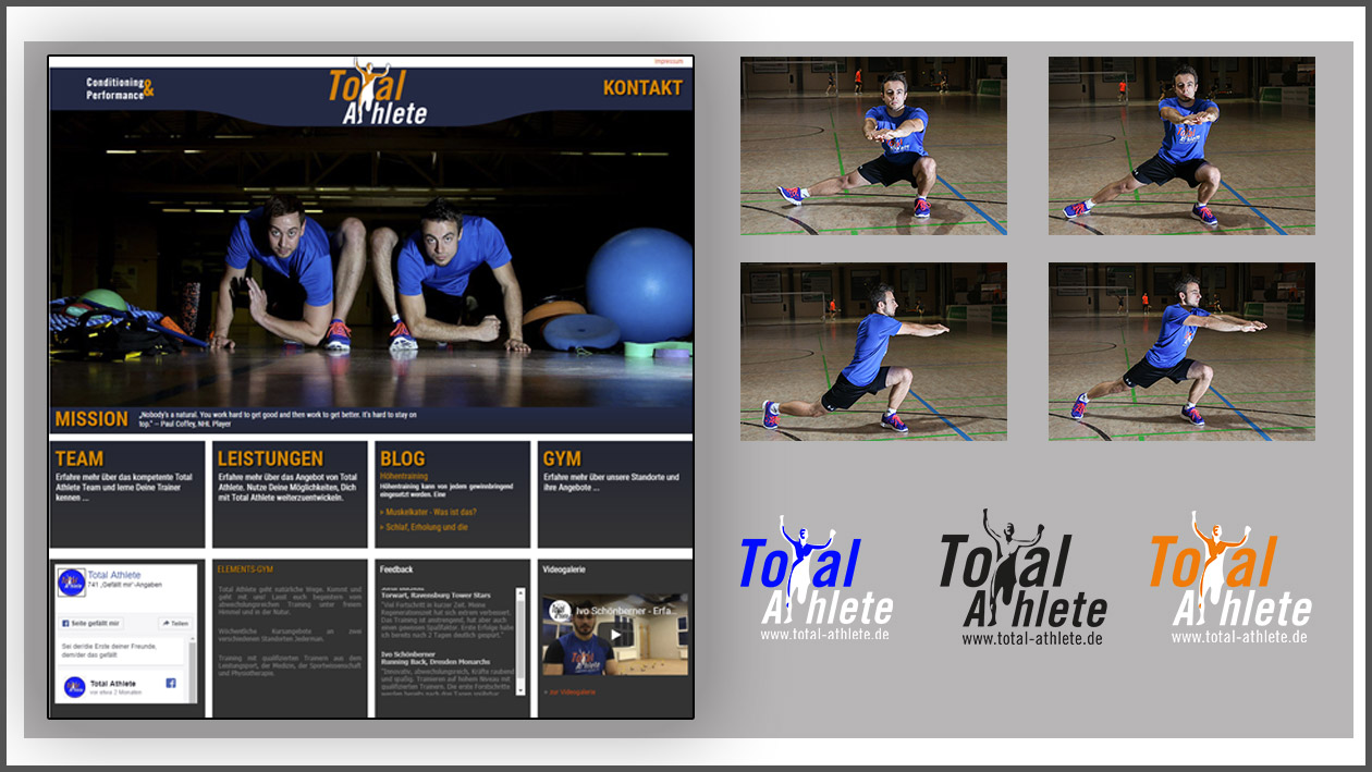 Webseite Total Athlete